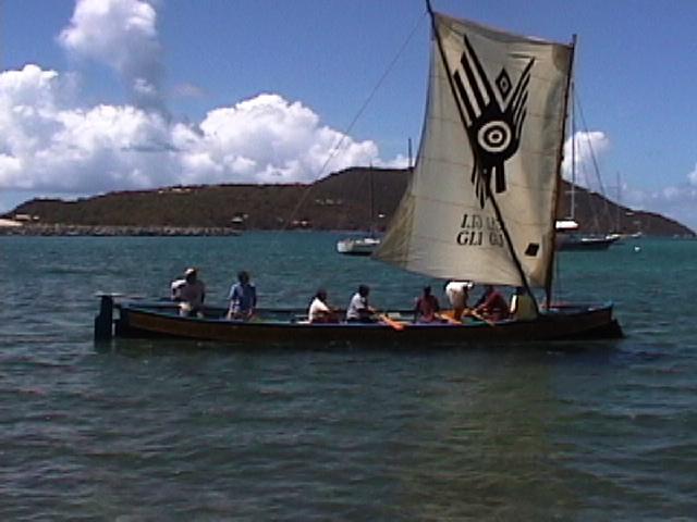 Gli-Gli...The Carib Canoe Project